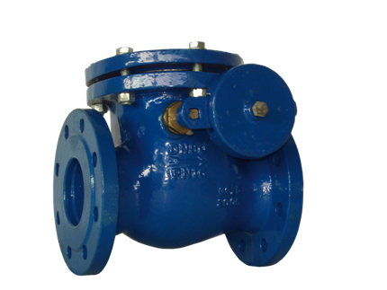 Valvotubi swing check valve with counterweight lever art.111