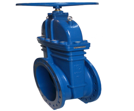Valvotubi soft seated gate valve with reducing gear art.93R