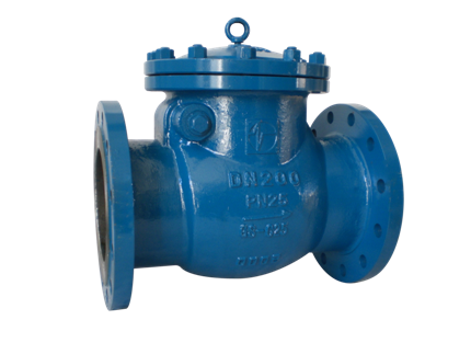Valvotubi cast steel swing check valve PN 16-25 art.192-193