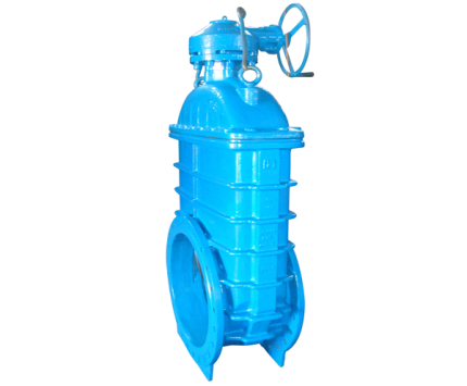 Valvotubi Ind. soft seated gate valves with reducing gear art.93R