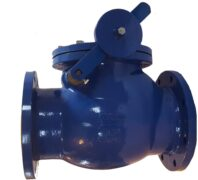 Valvotubi fig.111 swing check valve with counterweight lever